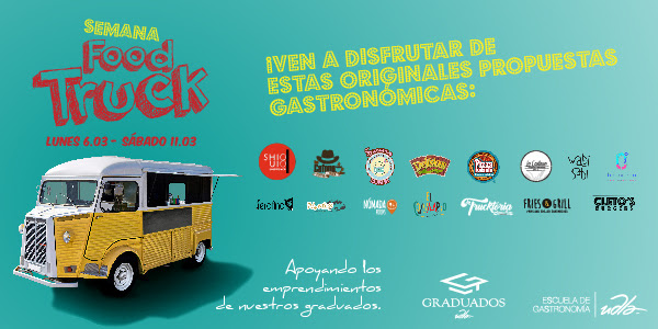 Semana De Food Trucks En La UDLA 🍕🍔🍣🍪