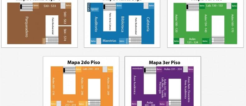 Mapas de Evacuación