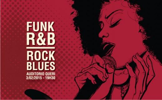 Concierto Rock & Blues, R&B y FUNK