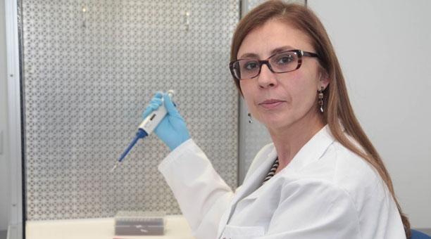 Paola Leone es presidenta de la Sociedad Ecuatoriana de Genética Humana. Foto: Paúl Rivas/ EL COMERCIO.