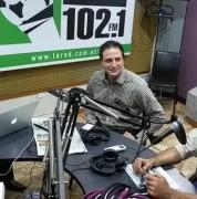 Rafael Jordá y Martín Oller, catedráticos de la UDLA / Cortesía:  Radio La Red