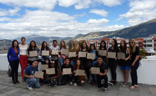 Participantes de Communication Summer Academy 2015