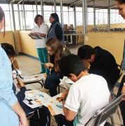 Estudiantes y docentes de Comunicación Corporativa de la UDLA imparten talleres a la comunidad