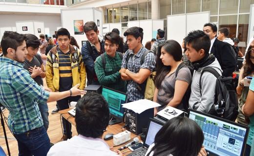 Ingeniería en Sonido y Acústica muestra sus proyectos en su Casa Abierta