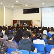 Supercom capacita a estudiantes de Música de la UDLA