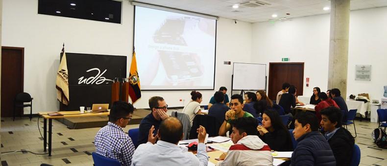 """Inició en la UDLA el curso: """"La Innovación Sostenible a través del Diseño"""""""