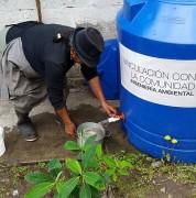 Estudiantes UDLA proporcionan agua limpia para pobladores de Nono