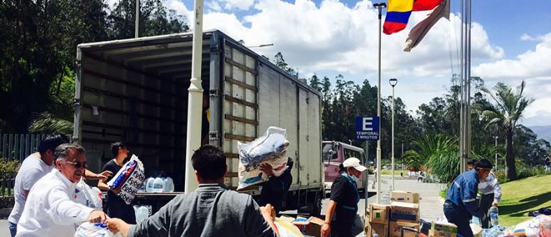 Parte última brigada de la UDLA para colaborar con las víctimas del terremoto