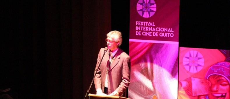 En el Teatro México inició el Primer Festival Internacional de Cine de Quito