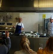 Chef visita la UDLA para mostrar la nueva cocina israelí
