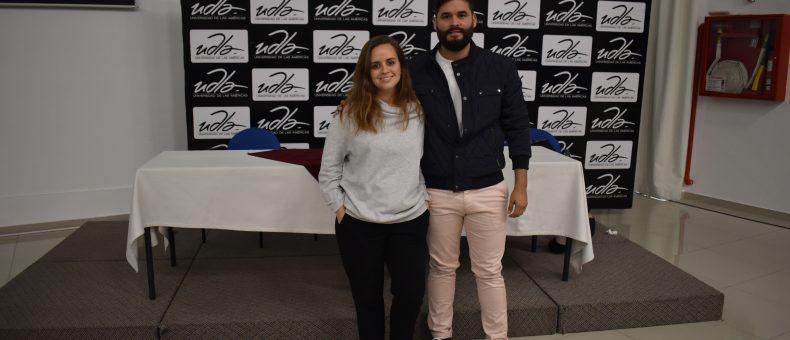 Lorena Darquea y Alberto Andrade